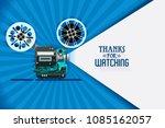 cinema movie thanks for...   Shutterstock .eps vector #1085162057