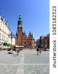 wroclaw  poland   april 29 ... | Shutterstock . vector #1085182523