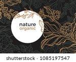 vector graphic coffee tree... | Shutterstock .eps vector #1085197547