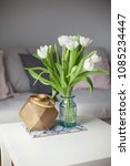 interior. room. a bouquet of... | Shutterstock . vector #1085234447