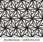 vector monochrome seamless... | Shutterstock .eps vector #1085251223