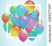 celebration backgeound.... | Shutterstock .eps vector #1085377397