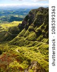 """Small photo of """"Serra do Corvo Branco"""", south of the state of Santa Catarina Brazil. Chain of mountains with altitudes between 1400 to 1900 meters."""