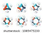 vector circle element for... | Shutterstock .eps vector #1085475233