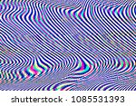 glitch universe background. old ... | Shutterstock . vector #1085531393