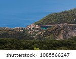 beautiful landscape panoramic... | Shutterstock . vector #1085566247