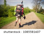an outdated way of traveling is ... | Shutterstock . vector #1085581607