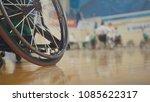 handicapped basketball player... | Shutterstock . vector #1085622317