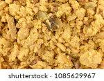 top close view of scrambled... | Shutterstock . vector #1085629967