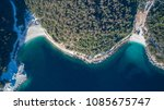 aerial view of porto vathy and... | Shutterstock . vector #1085675747