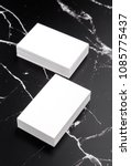photo of white business cards... | Shutterstock . vector #1085775437