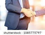 successful business people... | Shutterstock . vector #1085775797
