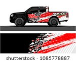 car livery vector. abstract...   Shutterstock .eps vector #1085778887