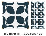 vintage tiles patterns antique... | Shutterstock .eps vector #1085801483