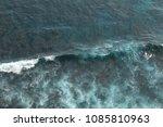 top view of amazing crest of... | Shutterstock . vector #1085810963