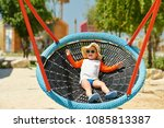 portrait of toddler child... | Shutterstock . vector #1085813387