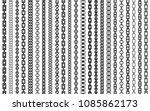 chain pattern brush set of... | Shutterstock .eps vector #1085862173