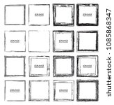 vector frames. squares for... | Shutterstock .eps vector #1085868347