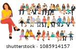 vector  isolated  flat style ... | Shutterstock .eps vector #1085914157