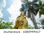 Small photo of Mari , Our lady, Mari and jesus, Mari and bluesky,Thailand.