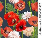 art vintage blurred colorful...   Shutterstock . vector #1086040517