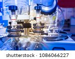 chemical production. devices... | Shutterstock . vector #1086066227