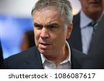Small photo of Sao Paulo/Brazil May 07 2018 FLAVIO ROCHA, rightwing candidate for president of Brazil, during the APAS - Supermarket Trade Show, at Expo Center Norte.