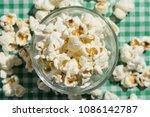popcorn. food of festa junina ...   Shutterstock . vector #1086142787