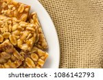 candy with peanut  known as pe... | Shutterstock . vector #1086142793