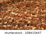 Conceptual Image Of Red Bricks...