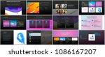 minimal presentations ... | Shutterstock .eps vector #1086167207