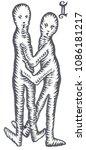 hand drawn  art of zodiac... | Shutterstock . vector #1086181217