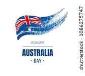 banner for australia national... | Shutterstock .eps vector #1086275747
