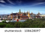 wat pra kaew grand palace at... | Shutterstock . vector #108628097