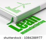 manufacuring concept  closed... | Shutterstock . vector #1086288977
