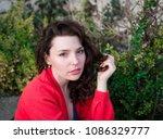 sexy beauty girl  fashion...   Shutterstock . vector #1086329777