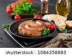 homemade sausage barbecue....   Shutterstock . vector #1086358883