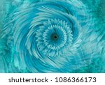 abstract  turquoise blue ... | Shutterstock . vector #1086366173