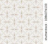 classic art deco seamless... | Shutterstock .eps vector #1086376133