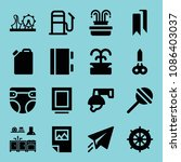 filled other icon set such as... | Shutterstock .eps vector #1086403037