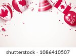 1st of july. canada... | Shutterstock .eps vector #1086410507