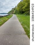 a view of the walkway at... | Shutterstock . vector #1086414923