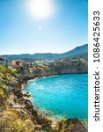 assos  kefalonia island  greece. | Shutterstock . vector #1086425633