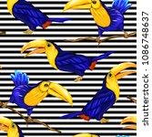 seamless pattern  background ... | Shutterstock .eps vector #1086748637