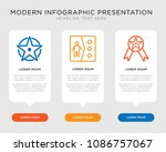 business infographic template... | Shutterstock .eps vector #1086757067