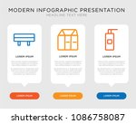 business infographic template... | Shutterstock .eps vector #1086758087