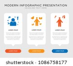 business infographic template... | Shutterstock .eps vector #1086758177