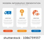 business infographic template... | Shutterstock .eps vector #1086759557