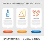 business infographic template... | Shutterstock .eps vector #1086785807