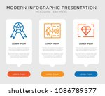 business infographic template... | Shutterstock .eps vector #1086789377
